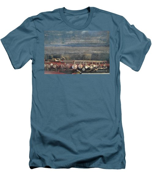 Men's T-Shirt (Slim Fit) featuring the photograph Safe Sax In Vegas by Brian Boyle