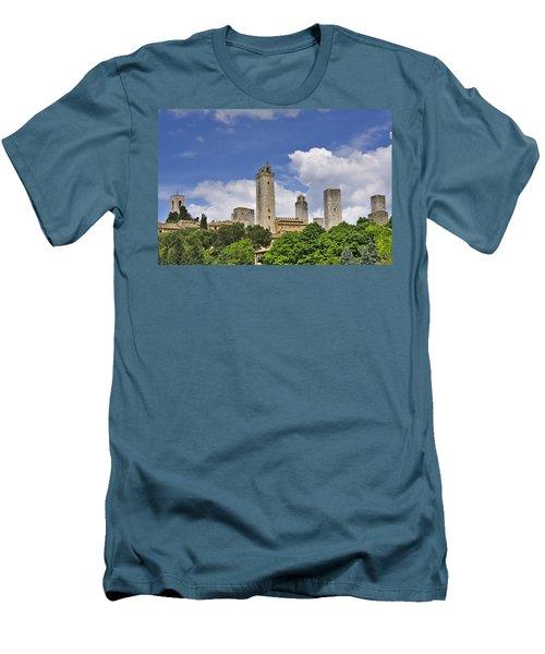 San Gimignano Men's T-Shirt (Athletic Fit)