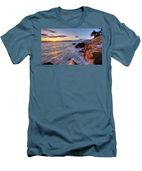 San Juans Serenity Men's T-Shirt (Slim Fit) by Mike Reid