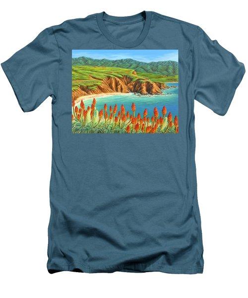 San Mateo Springtime Men's T-Shirt (Athletic Fit)