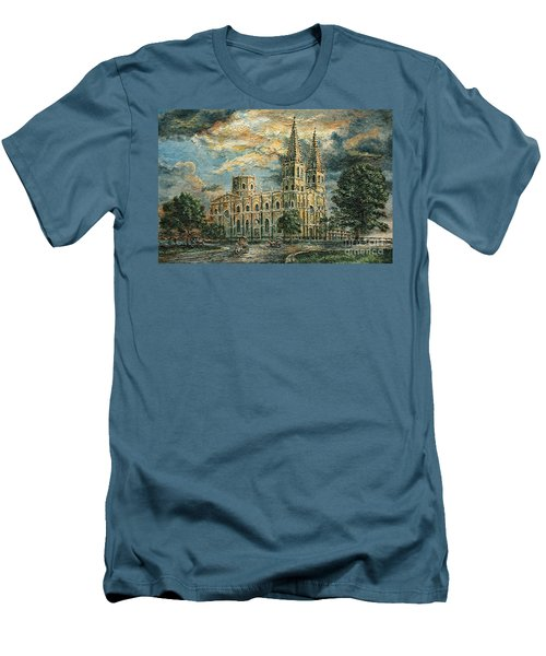 San Sebastian Church 1800s Men's T-Shirt (Athletic Fit)