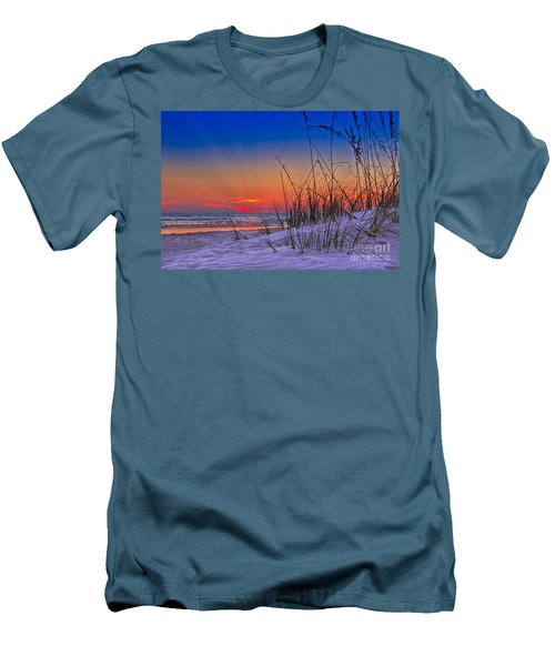 Sand And Sea Men's T-Shirt (Athletic Fit)