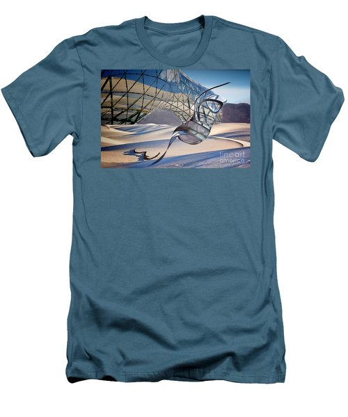 Sand Incarnations With Dali Men's T-Shirt (Athletic Fit)