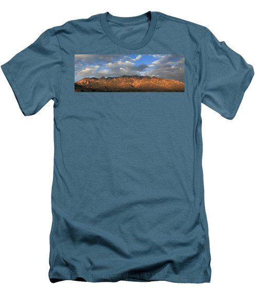 Sandia Crest At Sunset Men's T-Shirt (Athletic Fit)