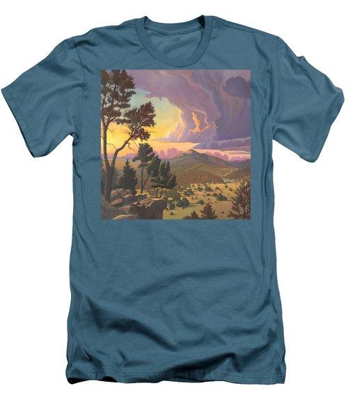 Santa Fe Baldy - Detail Men's T-Shirt (Slim Fit)
