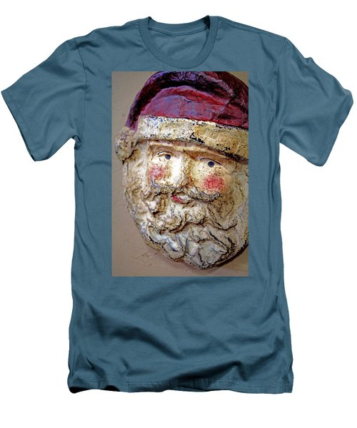 Men's T-Shirt (Slim Fit) featuring the photograph Santa by Lynn Sprowl