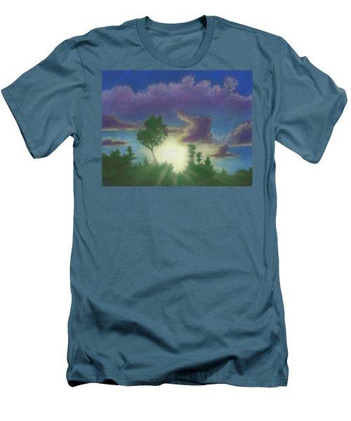 Santee Sunset 02 Men's T-Shirt (Athletic Fit)