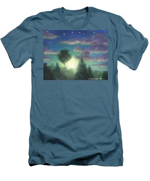Santee Sunset 03 Men's T-Shirt (Athletic Fit)