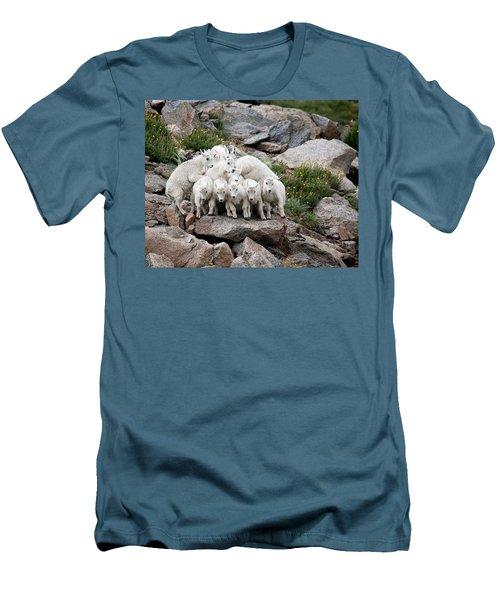 Say Cheese Men's T-Shirt (Slim Fit) by Jim Garrison