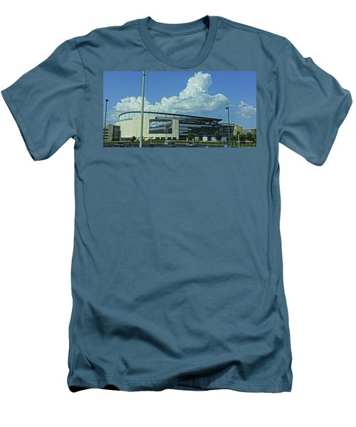 Scottrade Center Home Of The St Louis Blues Men's T-Shirt (Slim Fit) by Greg Kluempers