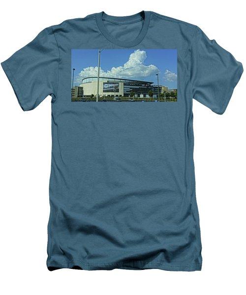 Scottrade Center Home Of The St Louis Blues Men's T-Shirt (Athletic Fit)