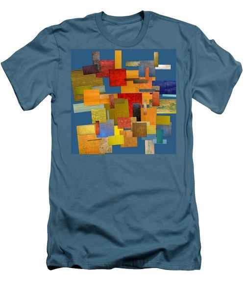 Scrambled Eggs Lv Men's T-Shirt (Athletic Fit)