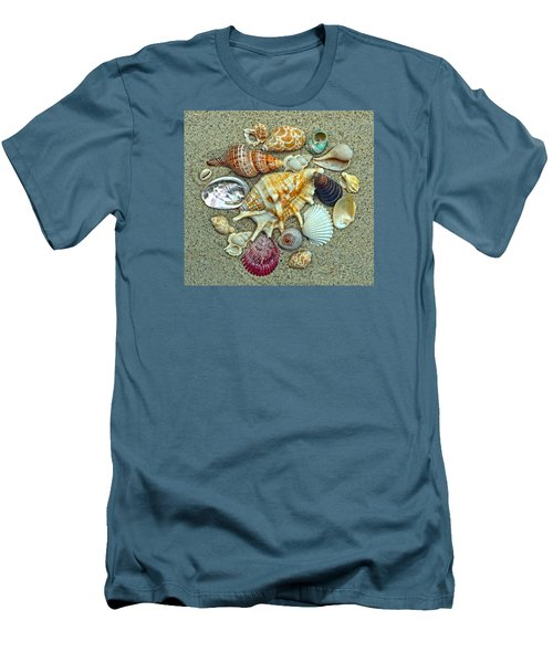 Seashells Collection Men's T-Shirt (Athletic Fit)