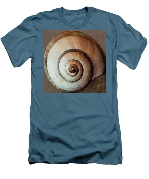 Men's T-Shirt (Athletic Fit) featuring the photograph Seashells Spectacular No 34 by Ben and Raisa Gertsberg