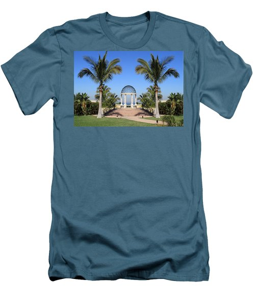 Seaside Gazebo Men's T-Shirt (Athletic Fit)
