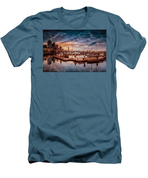 Seattle Marinescape. Men's T-Shirt (Athletic Fit)