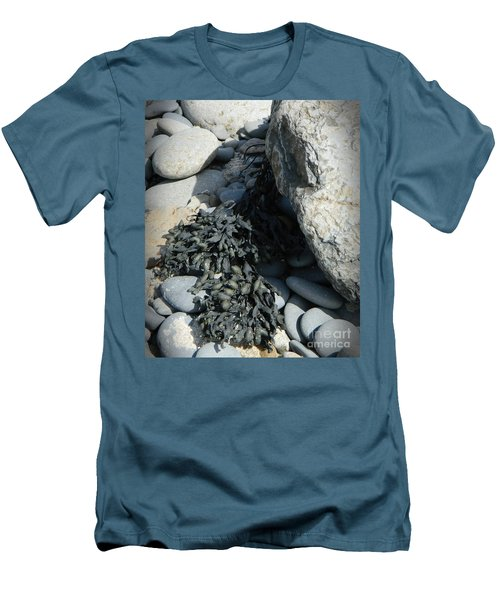 Seaweed And Rocks  Men's T-Shirt (Athletic Fit)