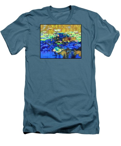 Shadows And Sunspots Men's T-Shirt (Slim Fit) by John Lautermilch