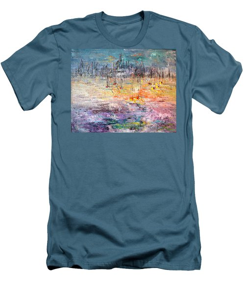 Shallow Water - Sold Men's T-Shirt (Slim Fit) by George Riney