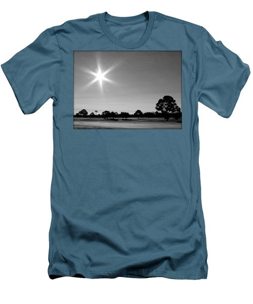 Men's T-Shirt (Slim Fit) featuring the photograph Shine And Rise by Faith Williams