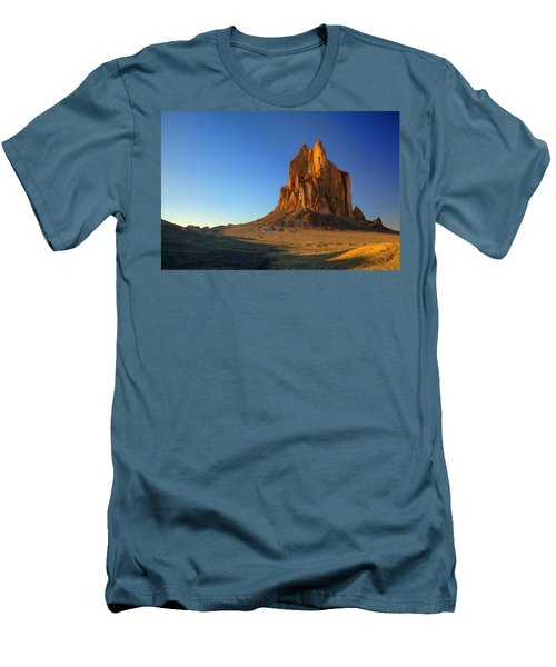 Shiprock Sunset Men's T-Shirt (Athletic Fit)