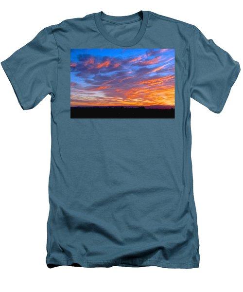 Sierra Nevada Sunrise Men's T-Shirt (Slim Fit) by Eric Tressler