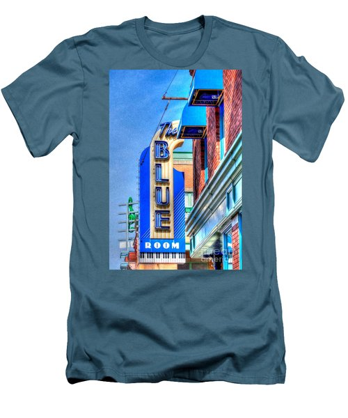 Sign - The Blue Room - Jazz District Men's T-Shirt (Athletic Fit)