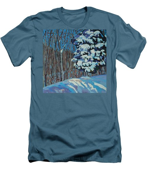 Significant Cedar Men's T-Shirt (Slim Fit) by Phil Chadwick