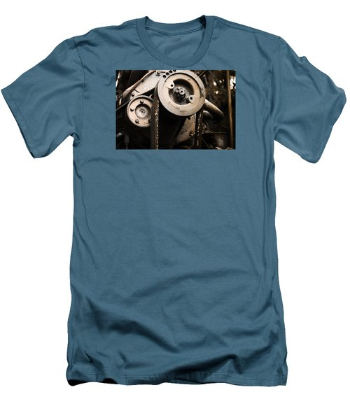 Silent Spinning Men's T-Shirt (Slim Fit) by Rebecca Davis