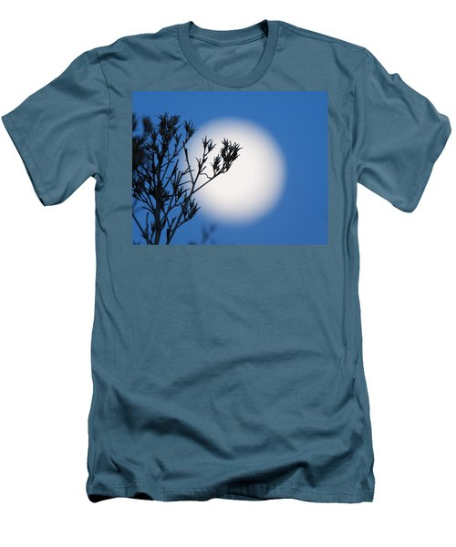 Men's T-Shirt (Slim Fit) featuring the photograph Silver Sage by Jim Garrison