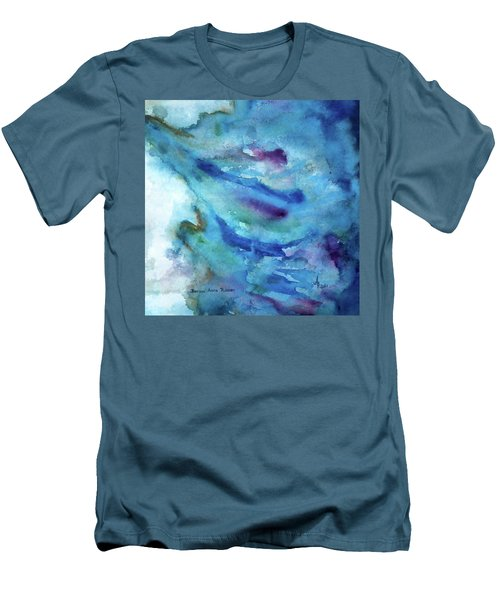 Sinking Men's T-Shirt (Slim Fit) by Anna Ruzsan