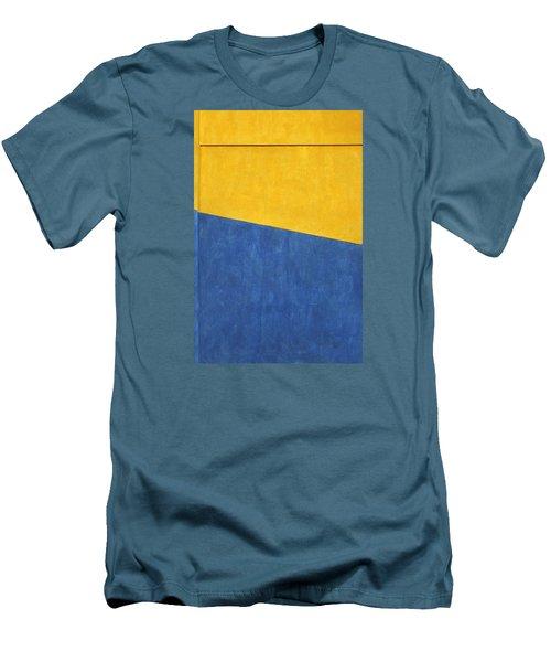 Skc 0303 Co-existance Men's T-Shirt (Slim Fit) by Sunil Kapadia