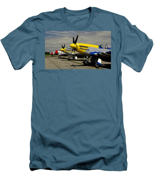 Sky The Limit  Men's T-Shirt (Slim Fit)