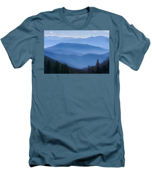 Smoky Mountains Men's T-Shirt (Athletic Fit)