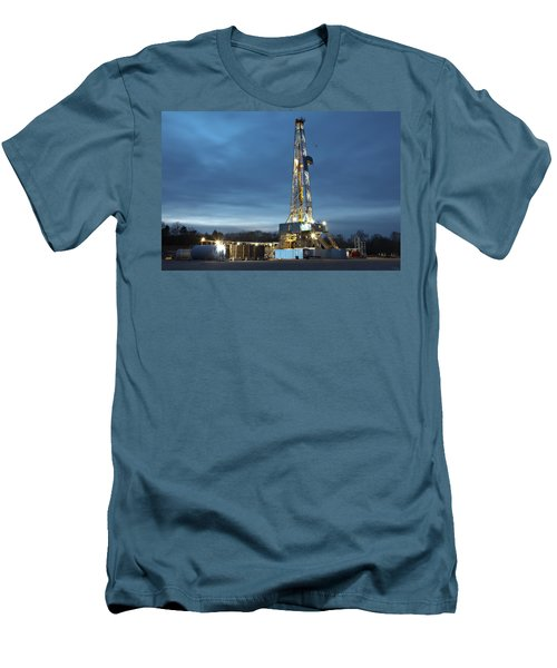 Smooth Drilling Men's T-Shirt (Athletic Fit)