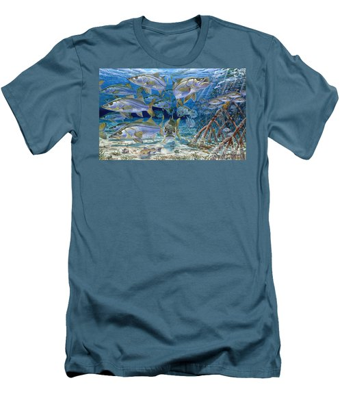 Snook Cruise In006 Men's T-Shirt (Slim Fit) by Carey Chen