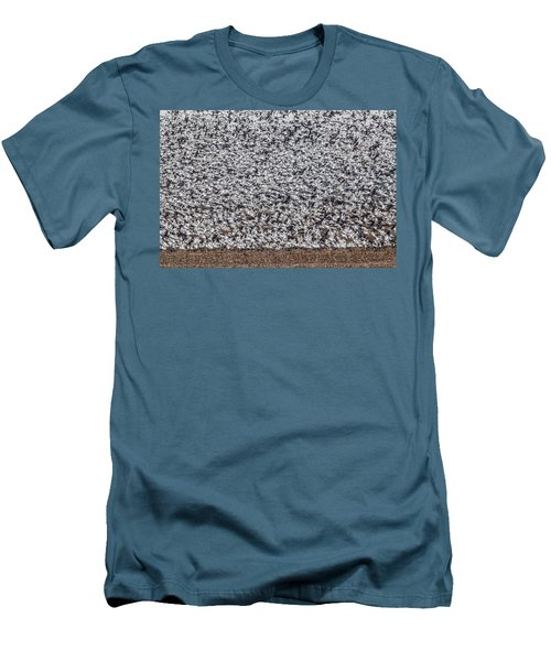 Snow Geese Men's T-Shirt (Slim Fit) by Brian Williamson