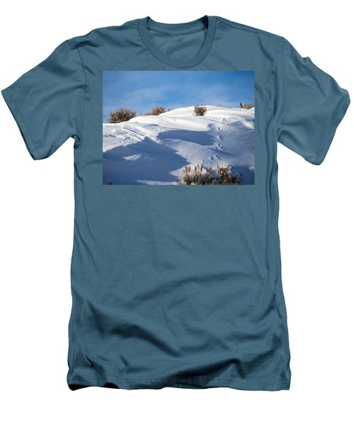 Snowdrifts Men's T-Shirt (Athletic Fit)