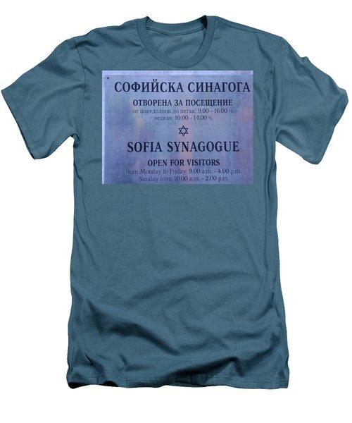 Sofia Synagogue Men's T-Shirt (Athletic Fit)