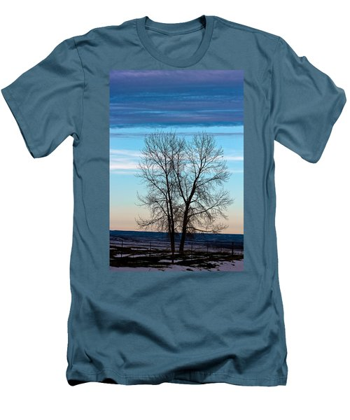 Soldier Creek Sunset Men's T-Shirt (Athletic Fit)