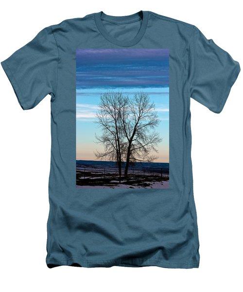 Soldier Creek Sunset Men's T-Shirt (Slim Fit)