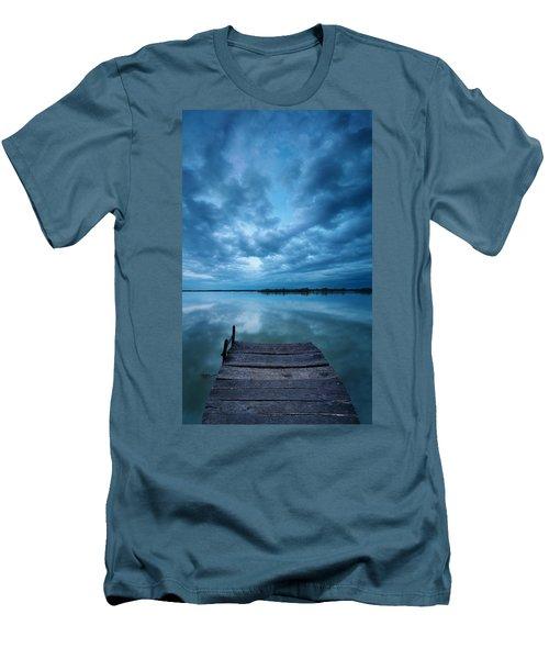 Solitary Pier Men's T-Shirt (Athletic Fit)
