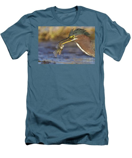 Men's T-Shirt (Slim Fit) featuring the photograph Speared by Bryan Keil