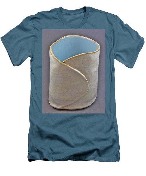 Spontaneous 07-023 Men's T-Shirt (Slim Fit) by Mario Perron