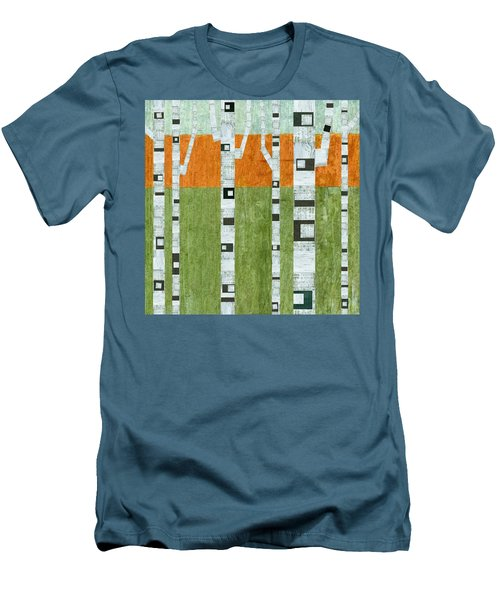 Spring Birches Men's T-Shirt (Athletic Fit)