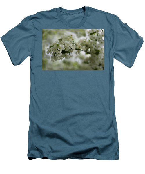 Men's T-Shirt (Athletic Fit) featuring the photograph Spring Bloosom by Sebastian Musial