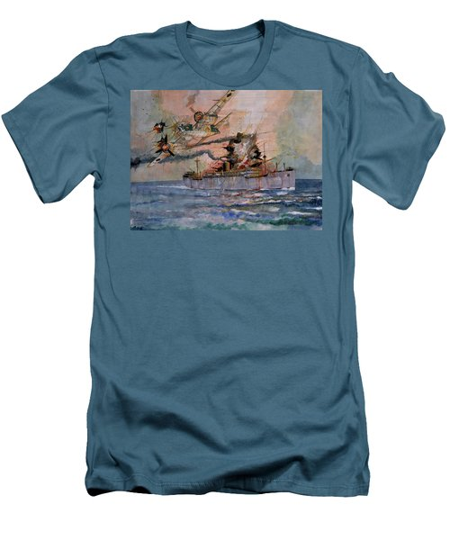 Ss Waimarama Men's T-Shirt (Slim Fit) by Ray Agius