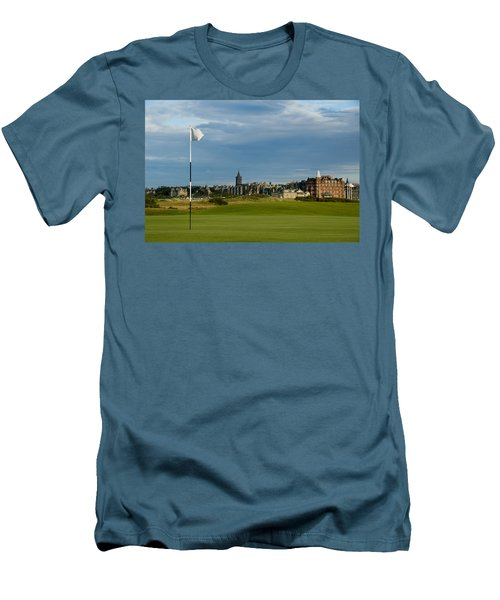 St Andrews Golf Men's T-Shirt (Athletic Fit)