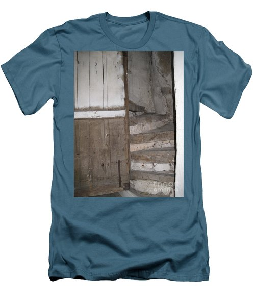 Men's T-Shirt (Slim Fit) featuring the photograph Staircase by HEVi FineArt