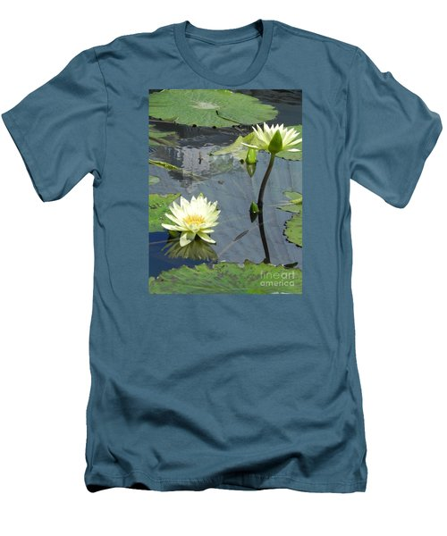 Standing Tall With Beauty Men's T-Shirt (Slim Fit) by Chrisann Ellis